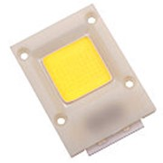 Мощный COB светодиод 220V, 50W, белый. фото