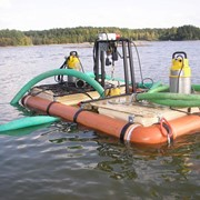 Очистка водойм в Україні фото