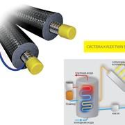 Сдвоенные системы K-FLEX TWIN SOLAR с теплоизоляцией SOLAR фото