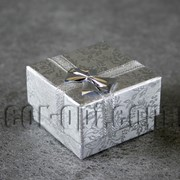 Коробочка серебряная 5х5см 3821 фото