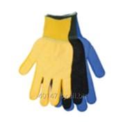 Перчатки вязанные полиамидные с ПВХ покрытием точка . с НДС фото