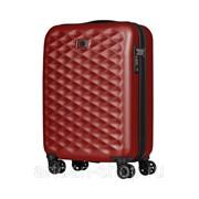 Чемодан WENGER Lumen, красный, поликарбонат, 40 x 20 x 55 см, 32 л фото