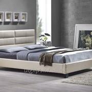 Кровать Джустина беж-карамельный фото