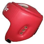 Шлем для тхэквондо ITF GTF(ИТФ) красный MC Sport фото