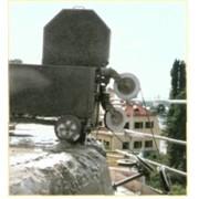 Алмазная резка канатным тросом фото