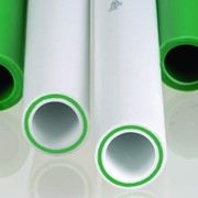 Трубы полипропиленовые армированные стекловолокном для сетей водоснабжения и отопления фото