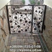 Кованные двери Модель КК-032 фото
