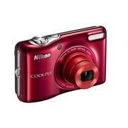 Цифровой фотоаппарат Nikon, L29, красный фото