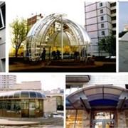 Конструкции алюминиевые в Украине фото
