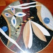 Мозаичные пано из натурального камня фото
