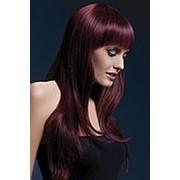 Бордовый парик Sienna фото