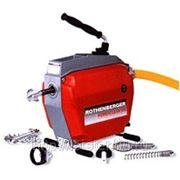Прочистная машина R750 (Ротенбергер) для прочистки труб до 250 мм. фото