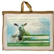 Наматрацник в пакете с ручкой шерсть овечья 320г/м2 180х200 Поликоттон фото