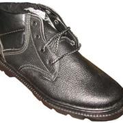 Ботинки мужские юфтевые фото
