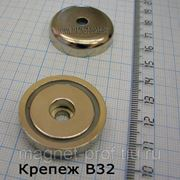 Магнитный крепеж/держатель В32 фото