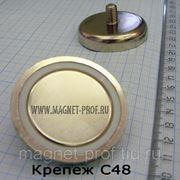 Магнитный крепеж/держатель С48 фото