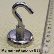Магнитный крючок E32 фото