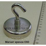 Магнитный крючок E60 фото