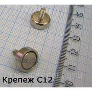 Магнитный крепеж/держатель С12 фото