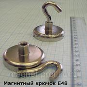 Магнитный крючок E48 фото