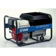 SDMO VX 200/4 H-C Электростанция сварочная фото