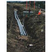 Проливка трубопровода системы канализации фото