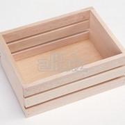 Деревянный ящик фото