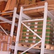 Стеллажи для европоддонов (грузовые, паллетные) фото