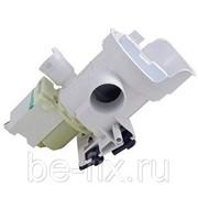 Насос с корпусом для стиральной машины Bosch 703147. Оригинал фото