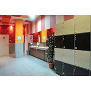 Шкафы арендные для фитнес клубов фото