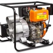 Мотопомпа дизельная для перекачки загрязненной воды МПД-1200Е фото