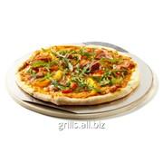 Камень для пиццы круглый, 36,5 см фото