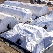 Спасательные надувные мобильные палатки TENTER фото