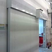 Ворота противопожарные автоматический раздвижные и распашные фото