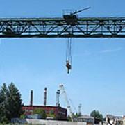 Краны козловые с грузовой тележкой и / или с электрической талью (ГОСТ 7352-88) фото