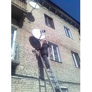 Системы спутникового и эфирного телевидения фото
