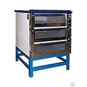 Печь хлебопекарная электрическая ХПЭ 750-500-31 стекло фото