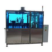 Автомат розлива и упаковки жидких продуктов в картонную упаковку фото