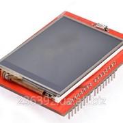 "Графічний дисплей LCD TFT 3.5"" Touch shield для Arduino UNO фото"