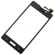 Тачскрин (сенсорное стекло) для LG E460 L5 фото