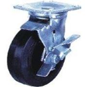 Колеса большегрузные поворотные с тормозом SCdb 80 фото