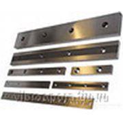 Нож для гильотины НГ13 550х60х24 (ф18) фото