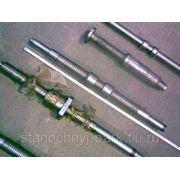 Винт ходовой на станок 1М63 РМЦ 3000 мм (1М63.01.155) с гайкой 1М983.101.50.100 фото