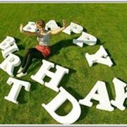 Объемные буквы под заказ Изготовление букв для фото сессий и декора фото
