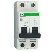 Автоматический выключатель АВ2000 2Р C 3A 6кА, модульные автоматические выключатели Standart фото