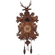 """Настенные часы с кукушкой """"Олень"""" 43х69х29см. арт.СQ-036 Columbus фото"""