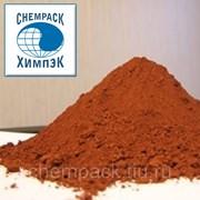 Сурик железный, окись железа, пигмент красный, крокус, минерал Гематит. Марка К. МКР фото