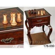 Столик-доска для шахмат 53*53*75 см (607013) фото