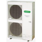 Внешний блок сплит-системы cерии High Power, тепловой насос WaterStage - Fujitsu General, инвертор, 1 фаза / 220 В / 50 Гц, охлаждение/нагрев, R410a. фото