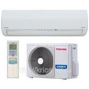 Настенная сплит-система Toshiba серии SKVP-ND, инвертор, самоочистка, плазменный фильтр с серебром, защита от плесени дезактивирует вирусы, фото